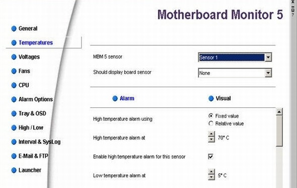 Motherboard Monitor