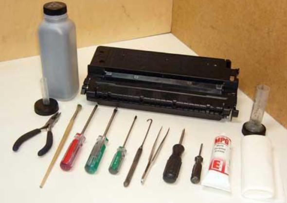 инструкция по заправке лазерных картриджей - фото 7