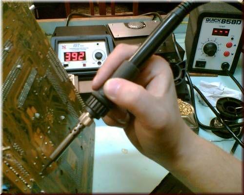 Ремонт своими руками жк мониторов